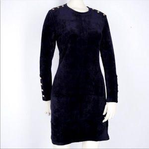 Juicy Couture black label velour dress XL